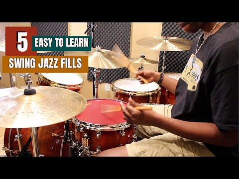 5 EASY TO LEARN JAZZ SWING FILLS