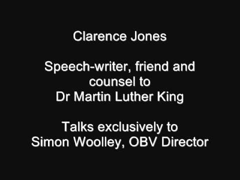 Clarence Jones talks exclusively to OBV