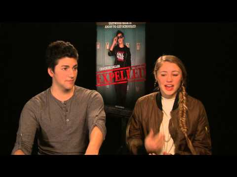 'Expelled'  with Alex Goyette and Lia Marie Johnson