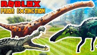 Roblox Prior Extinction - Achieטement Update! How To Get 3 NEW CREATURES! Argentinosaurus!