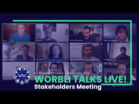 WORBLI Talks Live 2 - Public Team Progress Meeting and AMA - Replay