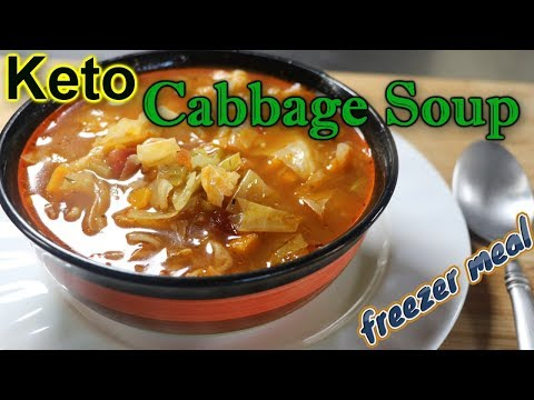 Keto Cabbage Soup (Easy Freezer Meals)