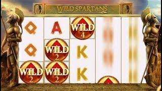 WILD SPARTANS La revanche avec cette machine à sous, et ses jokers. 2ème partie.