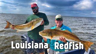 Amazing day Fishing for Redfish in Venice Louisiana