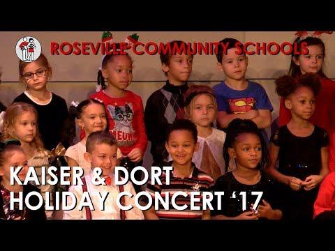 Kaiser and Dort Elementary School Holiday Concert 2017