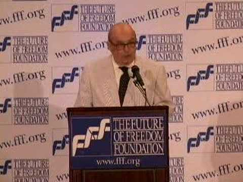 Ralph Raico at FFF Conference, Part 6 of 7