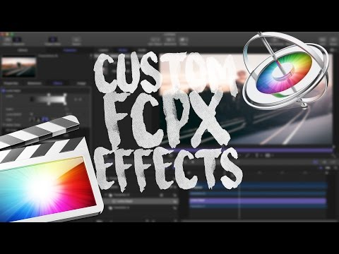 MAKE YOUR OWN FCPX EFFECTS & TRANSITIONS! - Motion 5 Overview