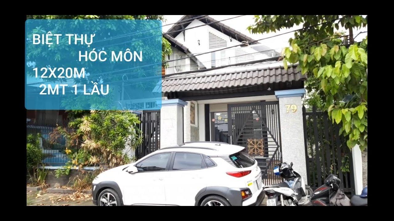 Bán Biệt Thự Hóc Môn Rộng, Thoáng 12x20m 1 Lầu , 2 Mặt Tiền Phan văn Hớn
