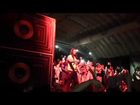 Waka Flocka Flame performs