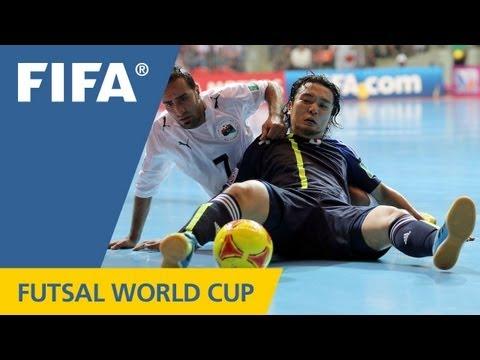Japanese pressure to futsal victory