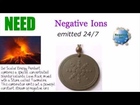 Scalar energy pendant - prevent from negative energy