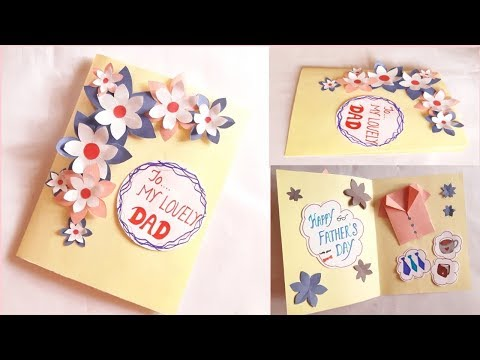 greeting-card-idea-for-dad-||-father's-day-||-father's-birthday