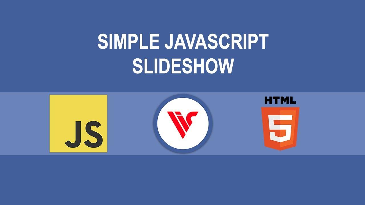 Simple JavaScript ES6 Slideshow