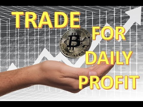 BITCOIN : How To Trade For Daily Profits  Part 1