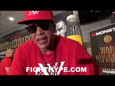 "VIRGIL HUNTER ON ANTHONY JOSHUA VS. ANDRE WARD ""$20 MILLION"" FIGHT; SAYS ABOUT STYLE, NOT WEIGHT"