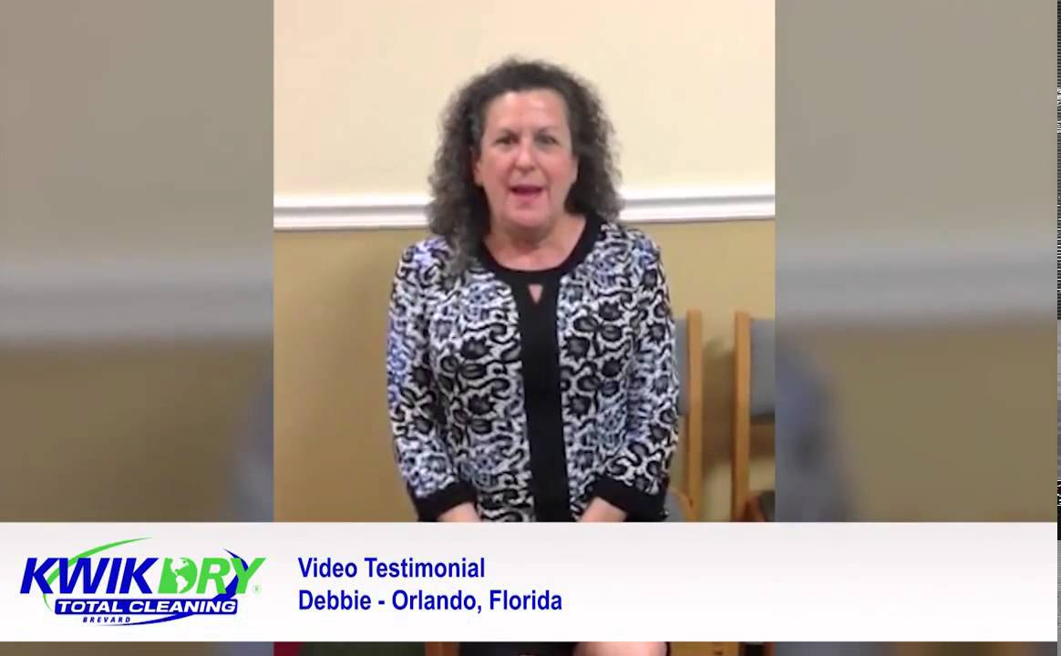 Kwik Dry Video Review:Debbie Borland, CEO at Global Quality Assurance Inc.