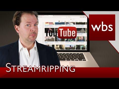 Ist Streamripping von Musik auf YouTube, Deezer oder Spotify erlaubt? | Kanzlei WBS