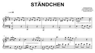 Schubert /Liszt - Ständchen (easy piano)