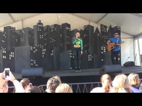 Joelle performing Save Me @ Burwood Festival on 21.9.14