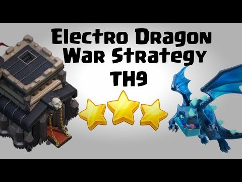 New Electro Dragon War Attack Strategy 2018 For Town Hall 9 (TH9) | Clash Of Clans INDIA