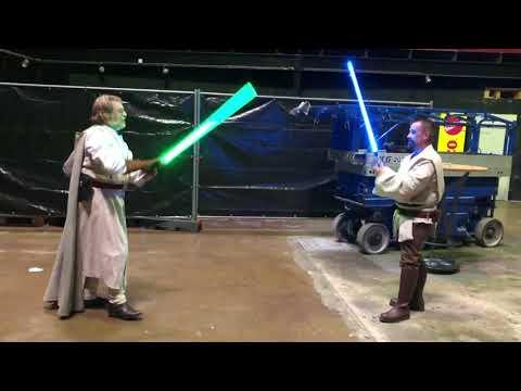 Convention Magazin: Jedi-Training auf der Filmbörse