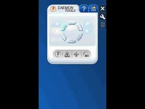 how to mount image in daemon tools windows 7 widget
