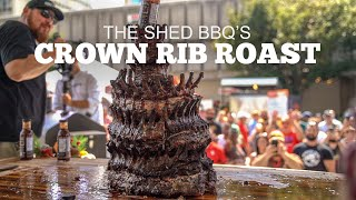 Crown Rib Roast With The Shed BBQ