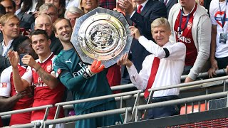 Arsène Wenger encouraged after Arsenal win Community Shield