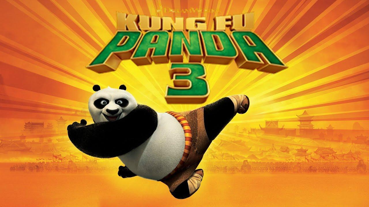 Kung Fu Panda 3 Coloring Book