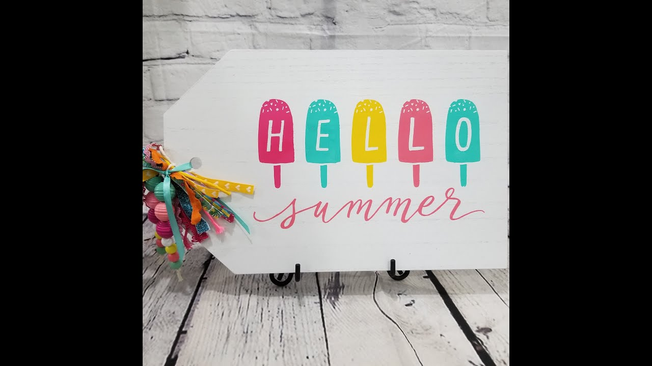 Hello summer - Chalk Couture