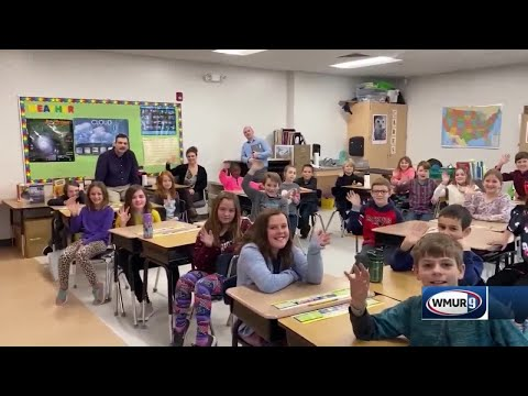School visit: Lincoln Akerman School in Hampton Falls