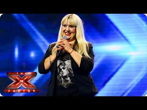 Shelley Smith sings Feeling Good by Nina Simone - Arena Auditions Week 2 -- The X Factor 2013