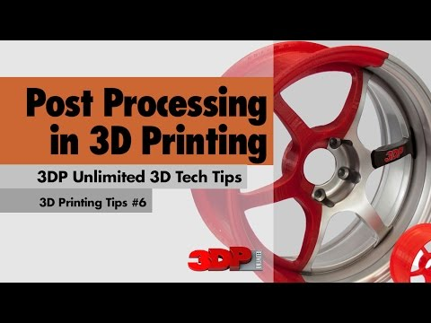 Post Processing in 3D Printing