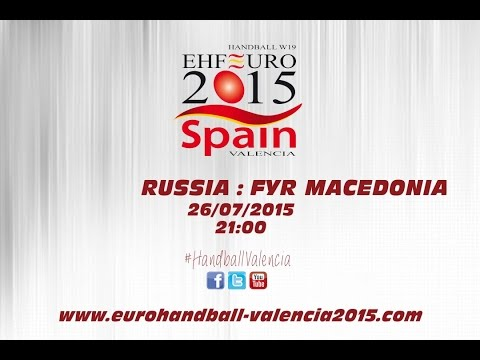 PR - Group B | Russia : FYR Macedonia