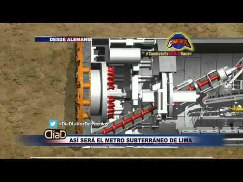 ¡Exclusividad! Así será el metro subterráneo de Lima