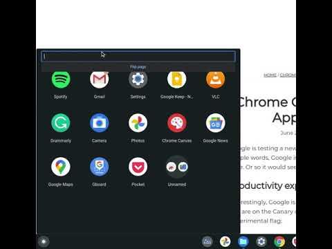 Google Tests a New Chromebook App Launcher Design