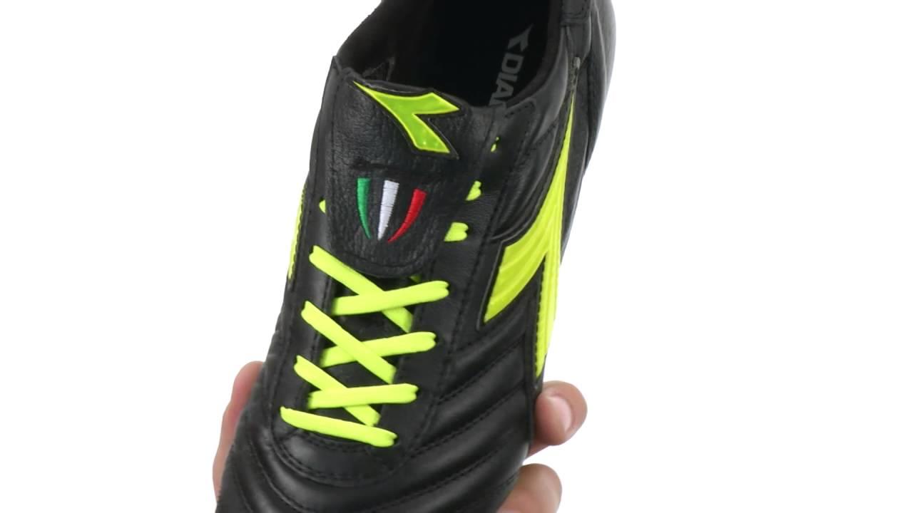 Brasil spa mdpu scarpa scarpetta scarpette arbitro calcio diadora nuove canguro amazon shoes neri