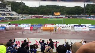FC町田ゼルビア 2017/10/15 町田市立陸上競技場 ツエーゲン金沢戦.