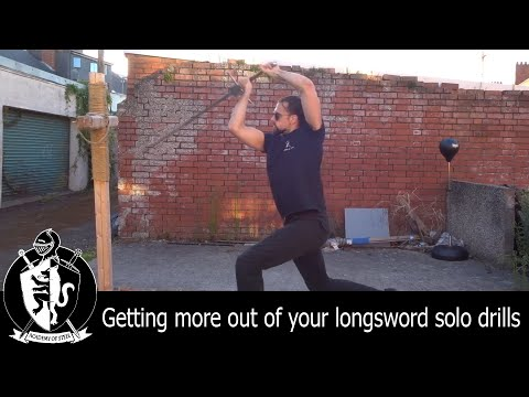 Getting more out of your longsword solo drills