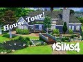 The Sims 4 - StoryBrook Mannor House Tour!
