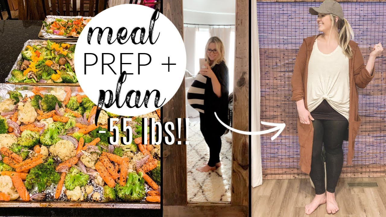 <div>MEAL PLAN & PREP WITH ME | HOW I LOST THE BABY WEIGHT WHILE BREASTFEEDING</div>