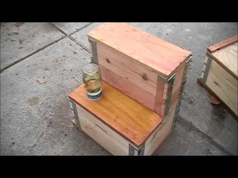 Eco Bee Box - Utah Hive - Comb Box