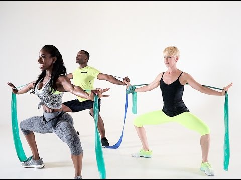 TOTAL BODY RESISTANCE BANDS WORKOUT