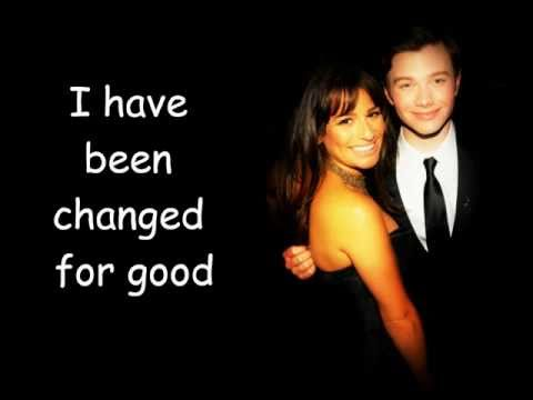 Glee Cast - For Good (With Lyrics)