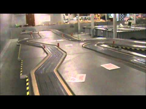Scalextric Classic Rally Cross Metro 6R4 & Ford RS200Test
