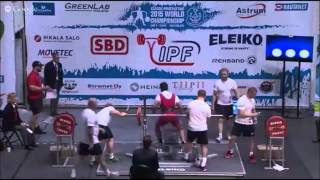 16 year old Deadifts 656lbs and wins IPF WORLD CHAMPIONSHIP