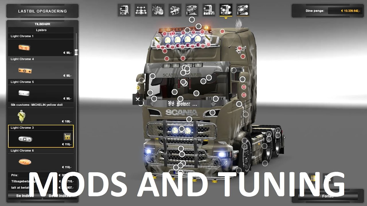 ETS 2 TUNING AND MODS 1 24