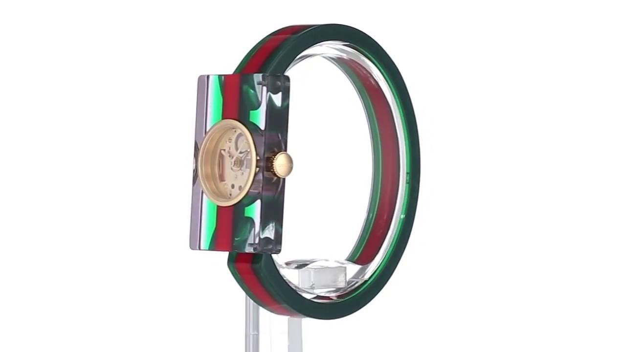 9e83f14a58c Gucci Plexi - YA143501 SKU 8947411 - YouTube
