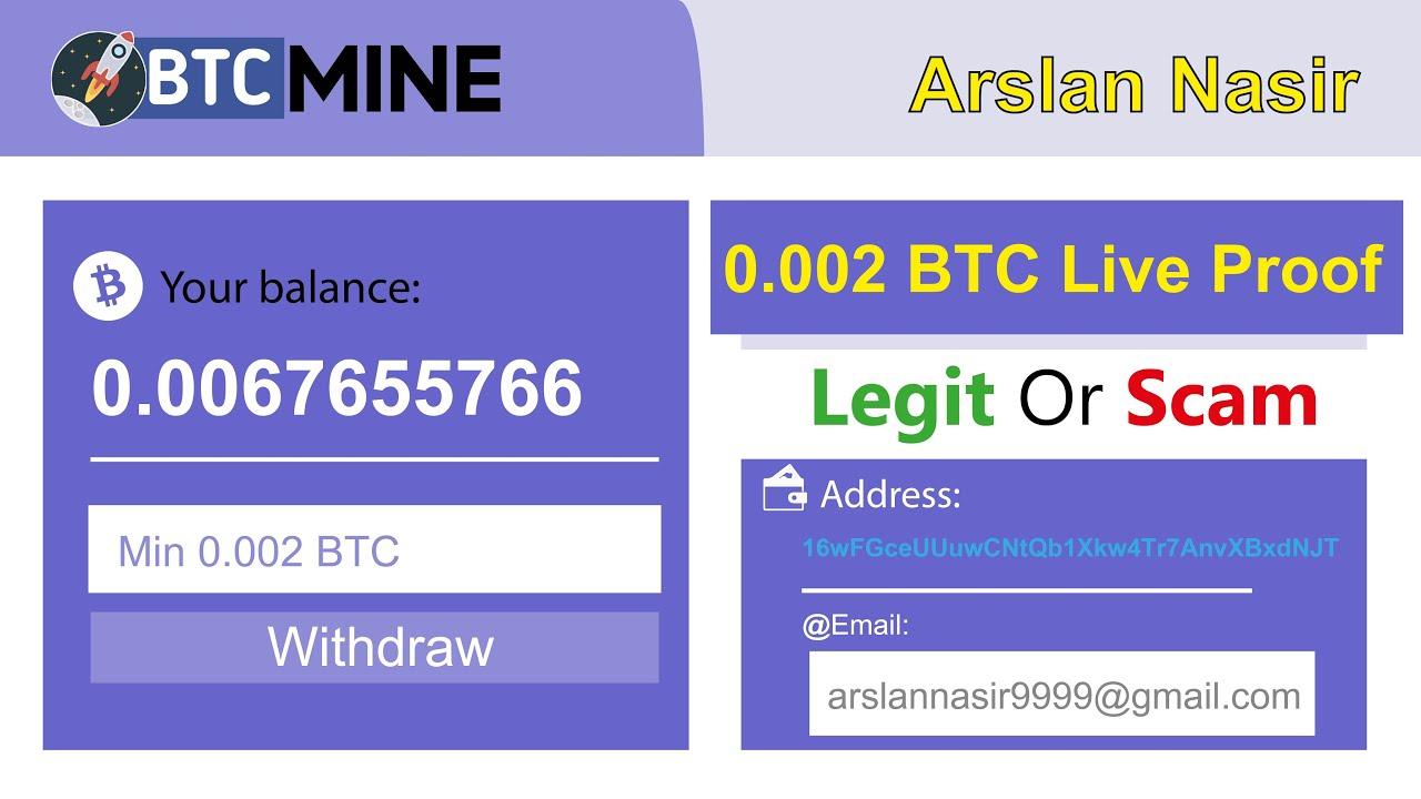 Rocket BTC Mine New Free Bitcoin Cloud Mining Site Legit Or Scam ...