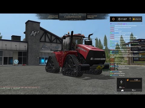 Farming Simulator 17 on Pleasant Valley 17 - Harvesting and other tasks